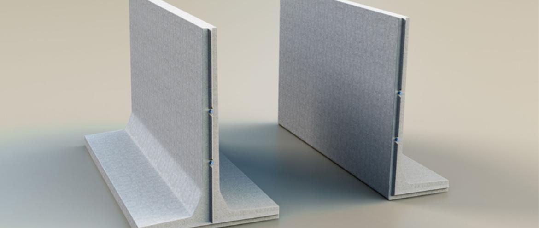 """Ściany oporowe silosu kiszonki z prefabrykowanych elementów """"STOLBUD"""""""